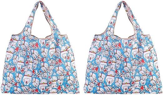 Umweltfreundlich Einkaufstasche Tasche Shoppertasche Bunt Reise Reise Vielfärbig