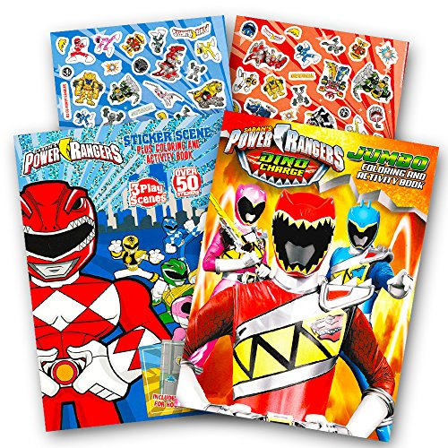 Review Power Rangers Coloring Book