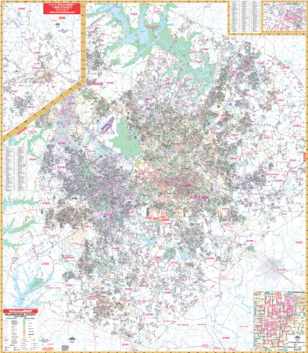 2009 Raleigh, NC (City Wall Maps)