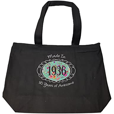 Amazon Made In 1936 80th Birthday Gift For Woman