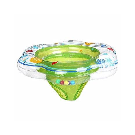 AOLVO Flotador de seguridad para baño de 0 meses a 18 meses para bebé recién nacido