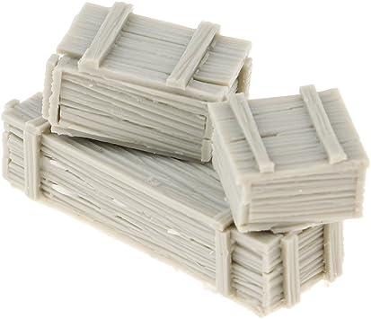 sharprepublic Caja De Caja con Cajones De Escenografía De Soldado De La Segunda Mundial Modelo 1/35 Sin Resina: Amazon.es: Juguetes y juegos
