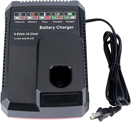 19.2V Max Rapid Charger for Craftsman DieHard C3 XCP Ni-Cd /& Lithium-Ion Battery
