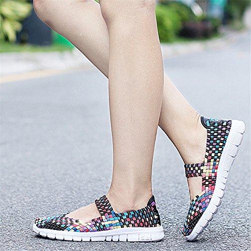 Mujer Zapatillas para Mehrfarbig1 SH075 AIRAVATA nqHtZfxw88