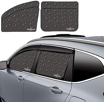 Big Ant Parasol para ventanillas de Coche 4 Unidades