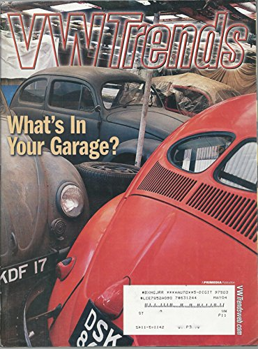 Trends Magazine Vw (VW TRENDS Magazine July 2003 Volume 22 No. 7 (Volkswagon, Volkswagen, Bug, Beetle, The perfect Beetle, Justin Dawson's Resto-Custom 1963 1200 Deluxe,))