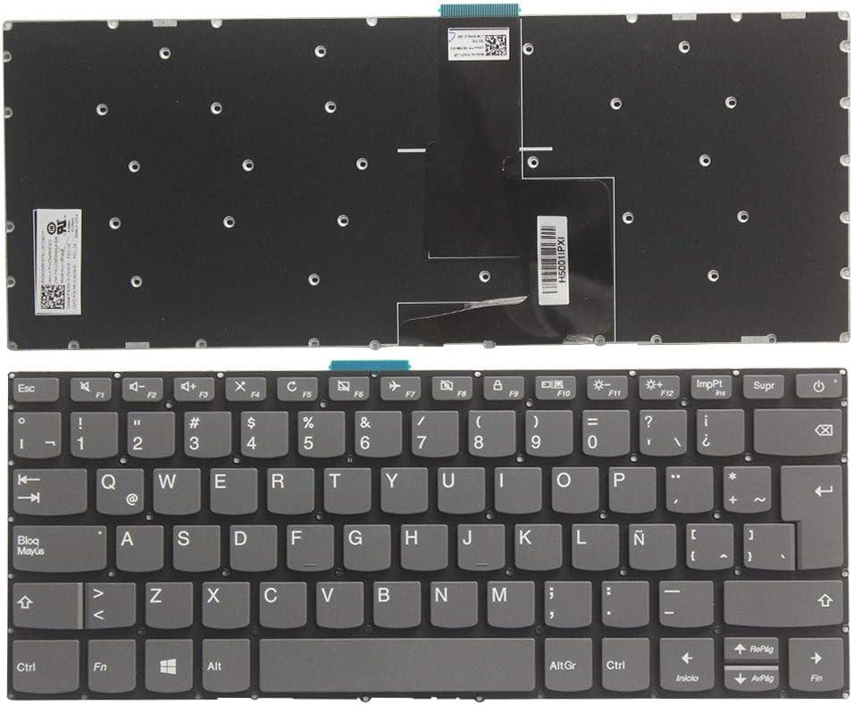 Laptop Replacement Keyboard Fit Lenovo Flex 5-1470 Flex 5-1570 No Backlight Latin Layout