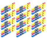 36 Party Pack - Blade Blaster Mini Eliminator Foam Water Gun Easy Light ...