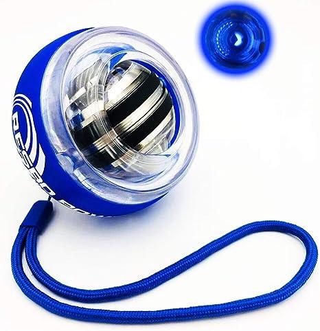 Balle gyroscopique /à la Puissance du Poignet renforcement du Poignet et exerciseur du Bras WMM Powerballs Renfort de pr/éhension de la Main
