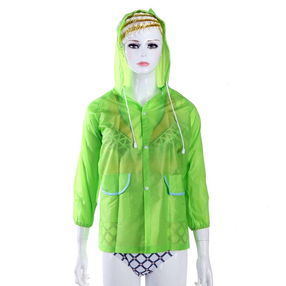 Chilsuessy Boys Girls Hooded Rain Coats