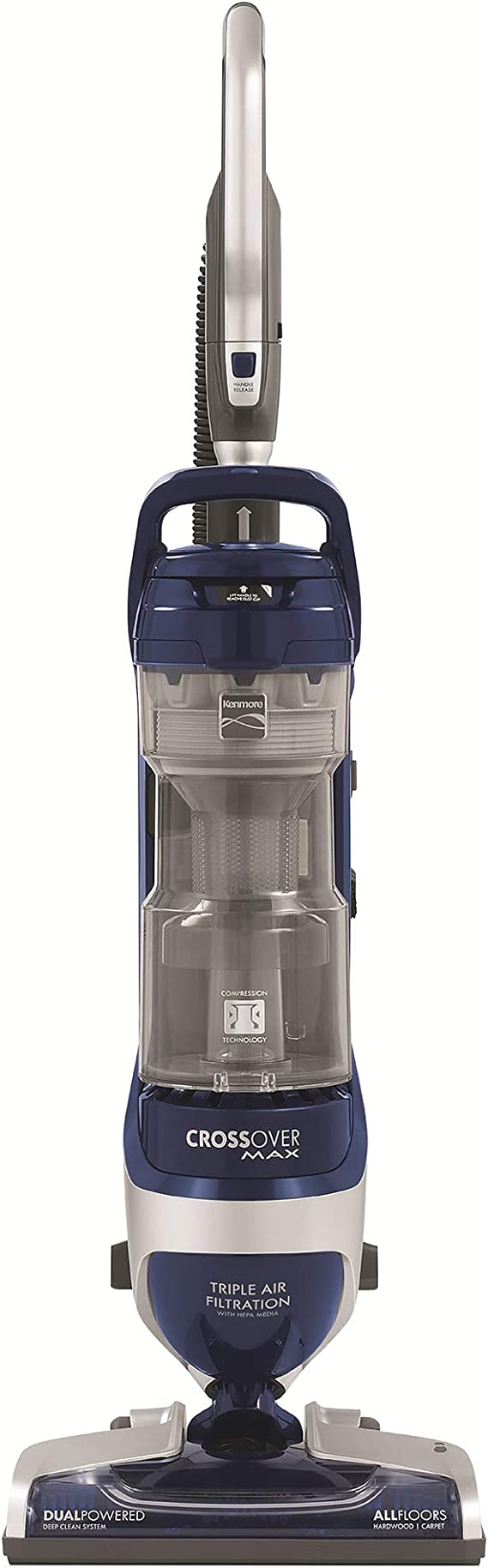 Kenmore Elite 31220  Pet Friendly Bagless Exclusive CrossOver Max Beltless Vacuum with Pet Handi-Mate