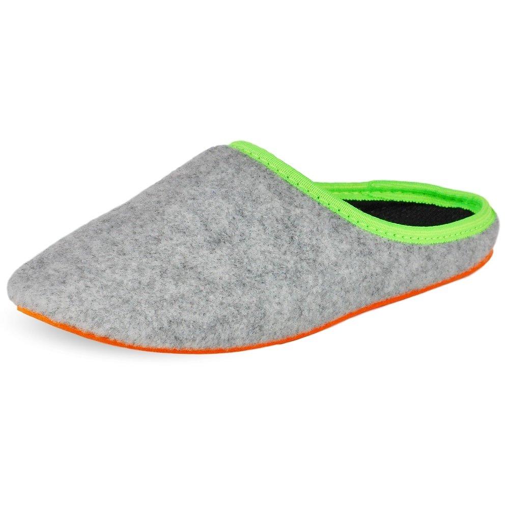 PantOUF Scarpe Pantofola Doullens Estremamente Comodi. Le Pantofole Flessibili, Sono Flessibili, Pantofole Leggero, Morbido,per Le Donne/Uomini, Rosso ScuroGrigio Chiaro/Arancione c27cf2