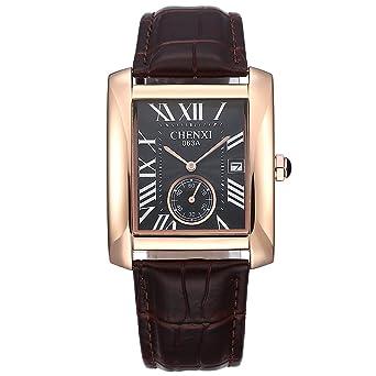 f1bda584ae Rockyu 鑑定 ブランド 人気 メンズ 腕時計 ミニマム 防水 耐久 カレンダー 腕 時計 レディース 日本製クオーツ