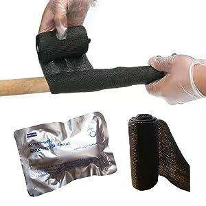 Fiberglass Repair Kit PVC Pipe Repair, Cable Joint External Protection, Simple Tools Furniture Wooden Handle Repair Quick Curing Repair Winding Tape