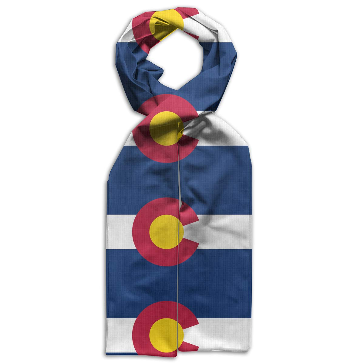 GQOP Kids Scarf Flag of Colorado Lightweight Long Scarf Shawl Warps