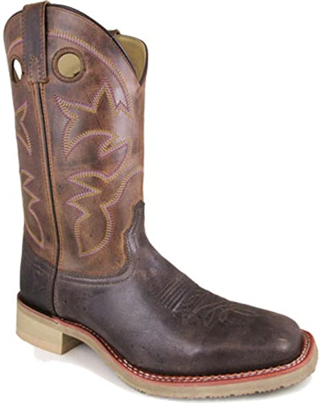 f15bf61a6eb Smoky Mountain Men's Parker Western Boot Square Toe