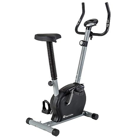 TecTake Maquina Fitness Bicicleta ESTATICA + Monitor: Amazon.es ...