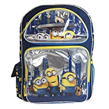 Backpack - Minions Movie - Bob Kevin Stewart City New 124537
