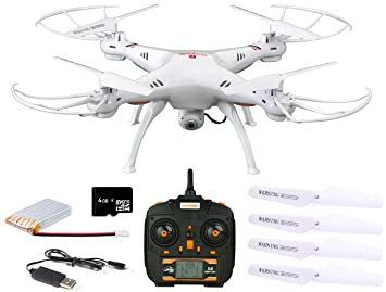 Amazon.com: Dynamic Aerial Systems X4 Spartan 2.4GHz 4CH 6 ...