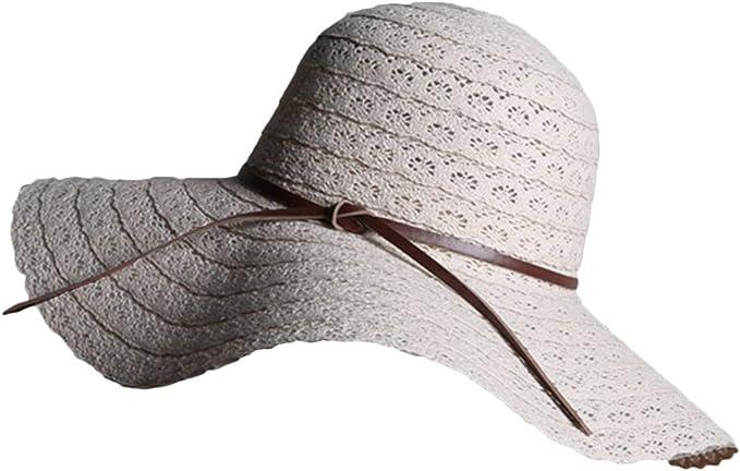 Gorros Sombrero para El Sol Mujer Elegante para Verano Mode De ...