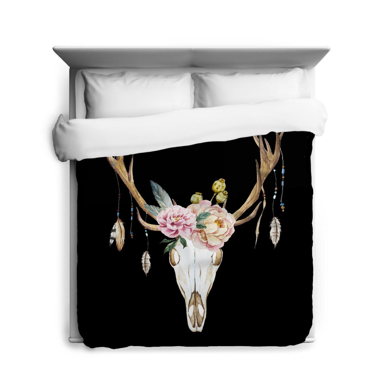 black skull bedding amazon com