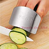 New Creative Kitchen Tool Stainless Steel Finger Hand Protector Guard Knife Slice Shield 2015 new arrival fkkk (Copter Shop)