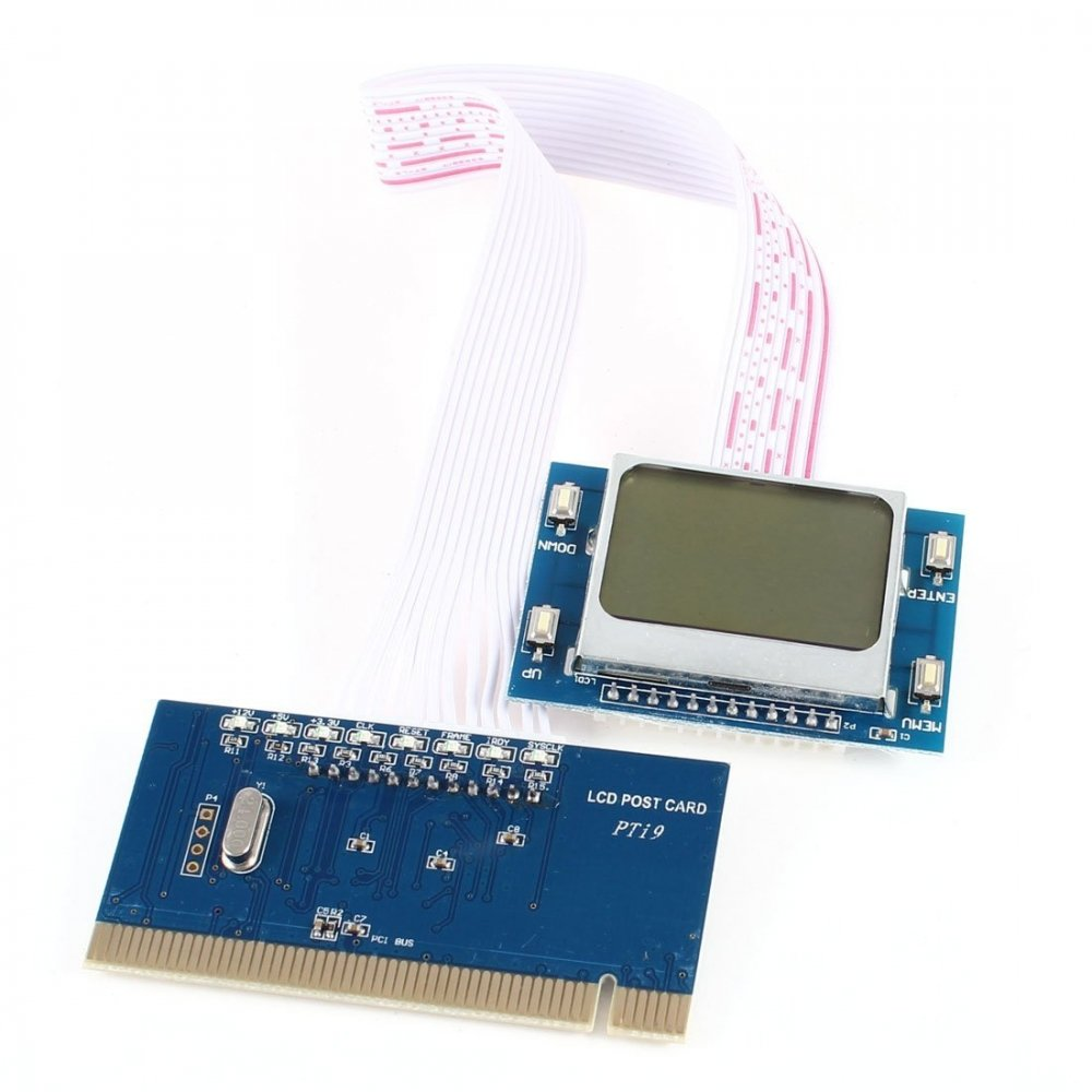 SATKIT Tarjeta de diagnostico PCI para Pc con Pantalla LCD Modelo ...