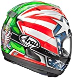 Arai Nicky 6 Corsair-X Street Motorcycle Helmet - Red/White/Blue / X-Large