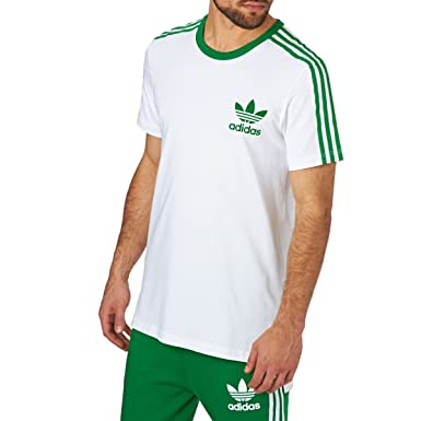 Image result for green and white adidas t shirt seventies