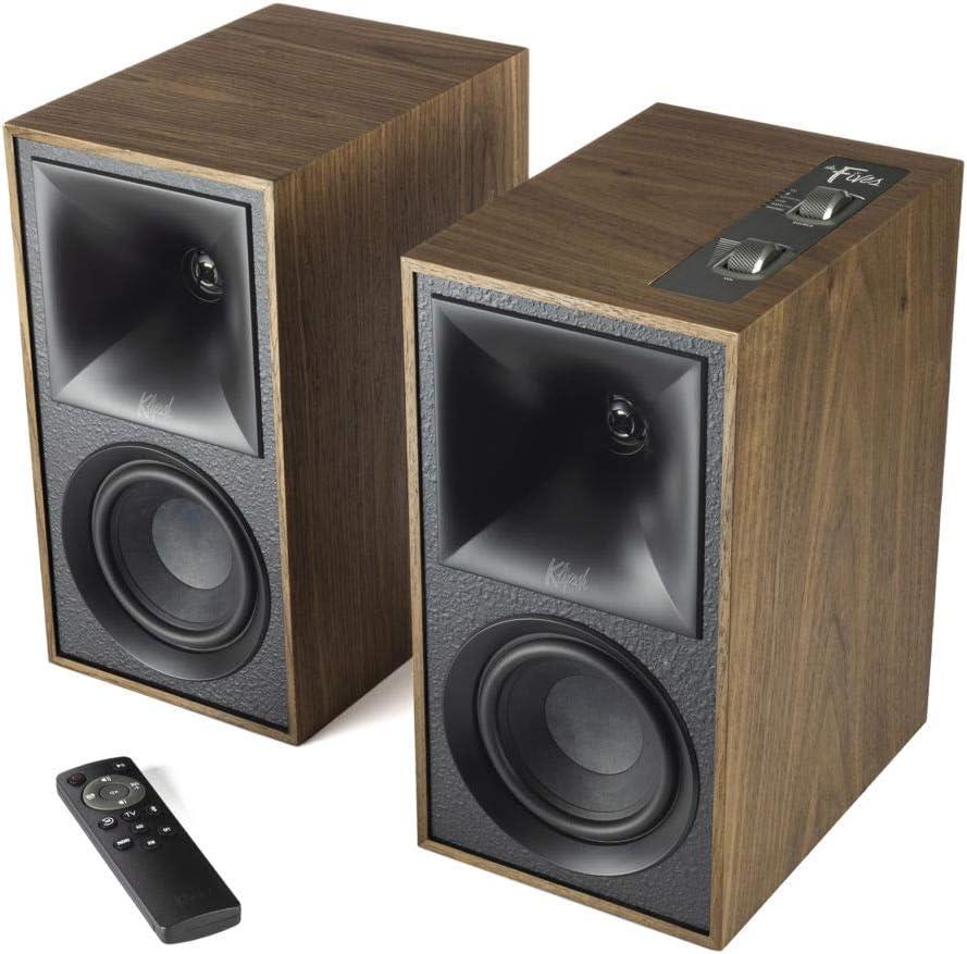 Klipsch The Fives Powered Speaker System with HDMI-ARC in Walnut