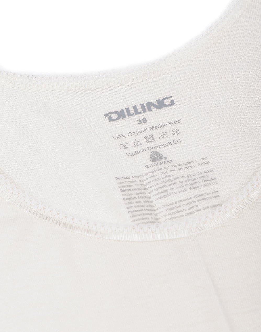 Ladies Thermal Vest DILLING Womens Merino Wool Tank Top