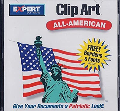 CD-ROM Clip Art (All-American)-1996