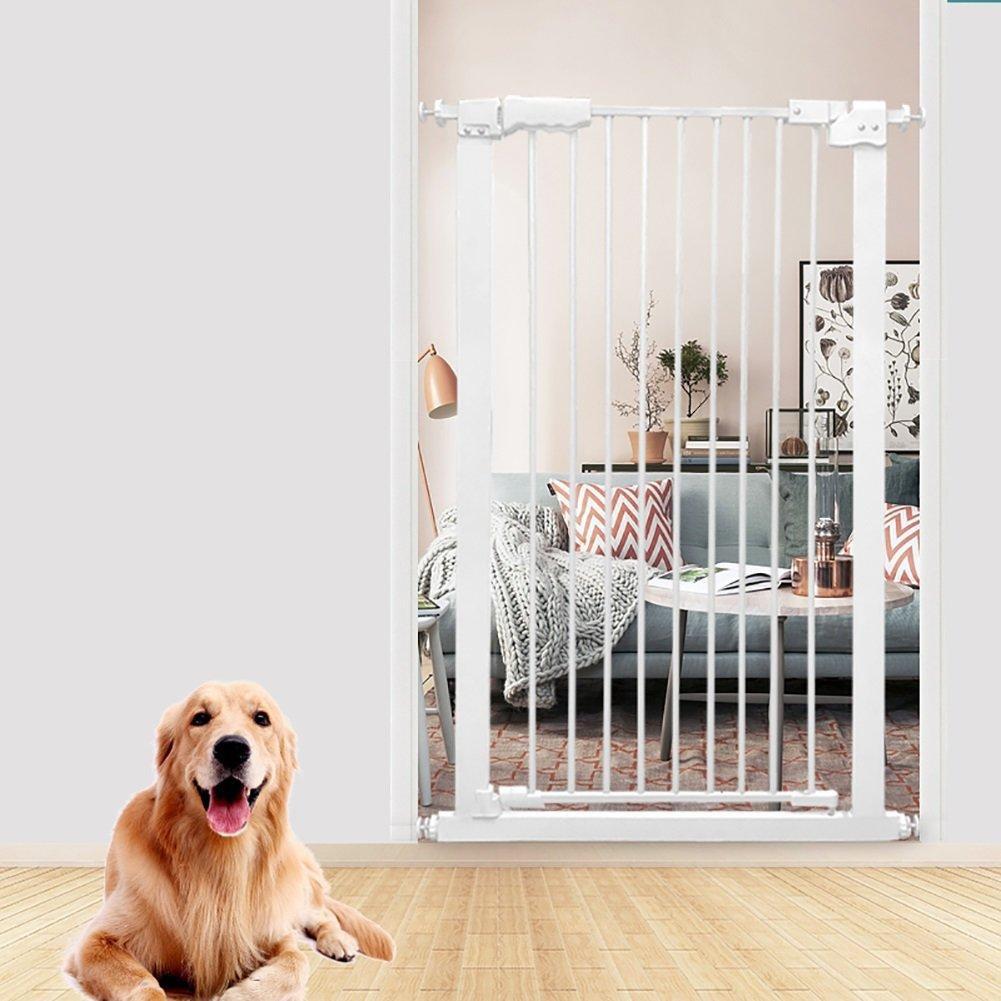 大特価 犬のための余分な背の高いペットの門猫戸口のための余分なワイドベビーバリアバリアブル廊下白い金属屋内安全ゲート61-168センチメートル さいず (サイズ さいず : B07CZGMRP3 120-130cm) (サイズ 120-130cm B07CZGMRP3, 和田町:3d977527 --- a0267596.xsph.ru