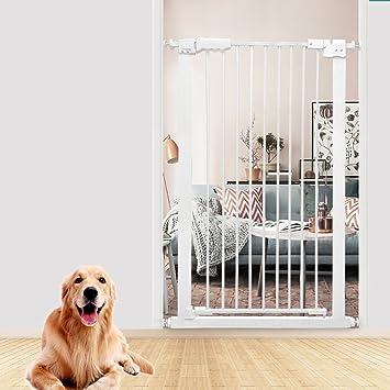 barrera seguridad Puerta Para Mascotas Extra Alta Para Perros Gatos Barrera Para Bebés Extra Ancha Para ...