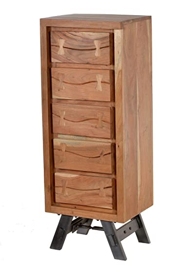 Sit Möbel Edge 11211 01 Kommode Mit 5 Schubladen Aus Akazienholz