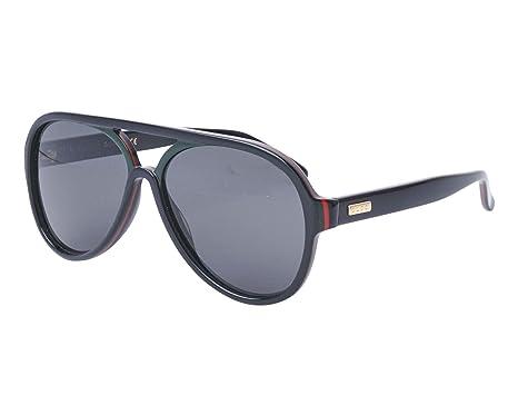 b4d052140e8124 Lunettes de soleil Gucci GG 002  Gucci  Amazon.fr  Vêtements et ...