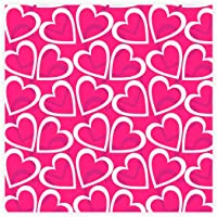 Regina Saco Metalizado 15x22cm Coracoes Pink - Pacote De 50 Unidades