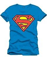 Superman Herren T-Shirt Superman Logo Classique