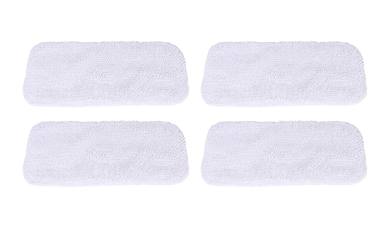 GIBTOOL Replacement Luna Cloth Pads for Sienna Luna Steam Mop Head SSM-3006 Microfiber Mop Pads 4 Pcs (4) by GIBTOOL