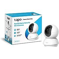TP-Link - Cámara IP WiFi 360º, Cámara de Vigilancia FHD 1080p, Visión nocturna, Admite tarjeta SD, Audio Doble Vía…
