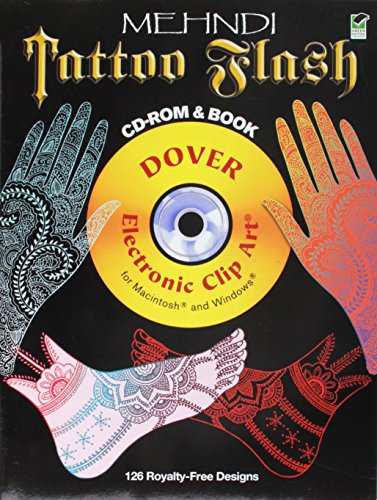 Electronic Flash Instruction Manual - Mehndi Tattoo Flash CD-ROM and Book (Dover Electronic Clip Art)