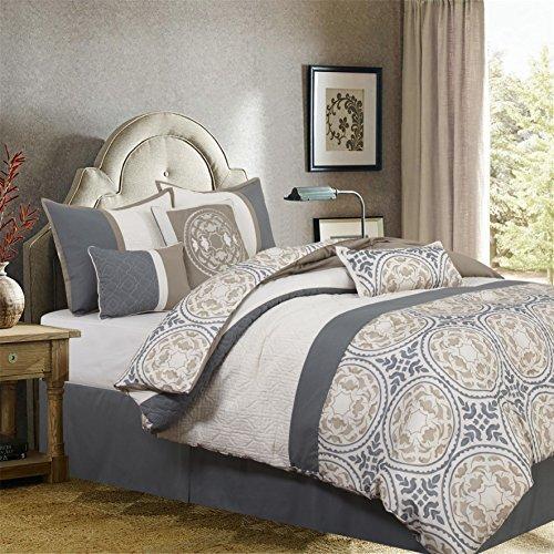 Nanshing Camila 7 Piece King Comforter Set