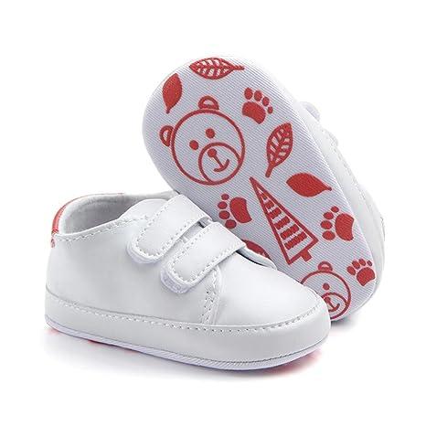 Zapatos Bebé Primeros Pasos ❤ Amlaiworld Infantil Bebé Niña Niño Zapatos de Cuna de Suela Blanda Sneaker Zapatilla de Prewalker Recién Nacido Zapatilla ...