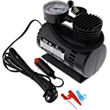 MonkeyJack Portable Electric Mini 12V Air Compressor Pump Car Tyre Tire Inflator 300PSI