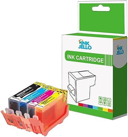 InkJello - Cartucho de tinta de repuesto para HP Photosmart Plus ...