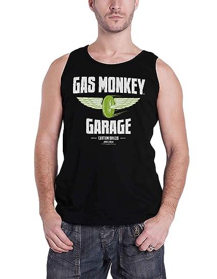 4XL Officially Licensed Gas Monkey Garage 5XL Men T-Shirt Speed Wheels 3XL