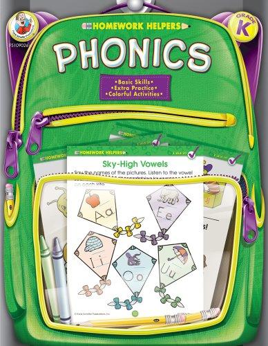 - Phonics Homework Helper, Grade K