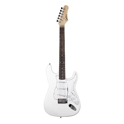 EAGLETONE Phoenix guitarra eléctrica, color blanco