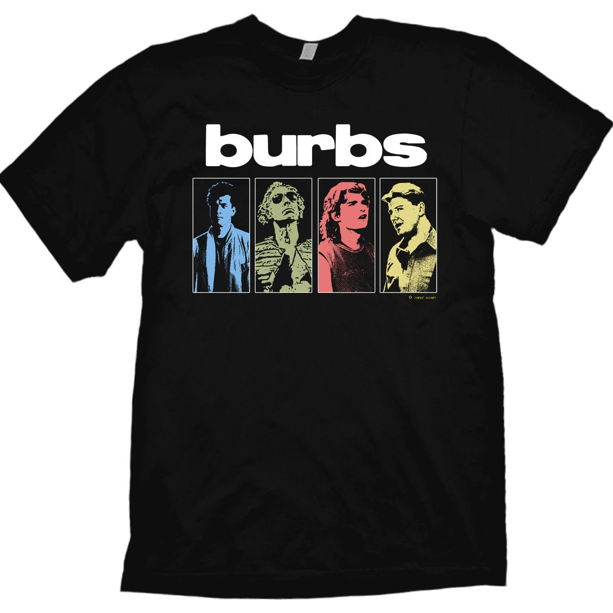 T Shirt Design Business Near Me: Amazon.com: The 7Burbs T-Shirt Pop Art Design #1 by Jared Swart rh:amazon.com,Design