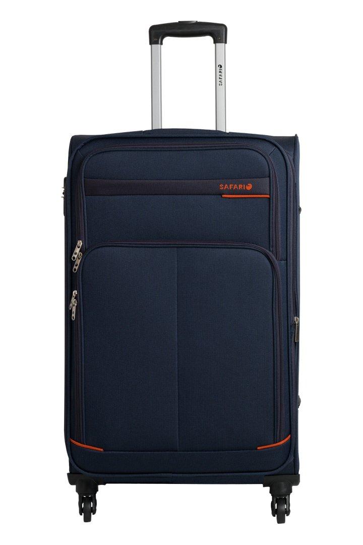 Safari Maasaimara Fabric 55 Cms Navy Blue Softsided Carry-On